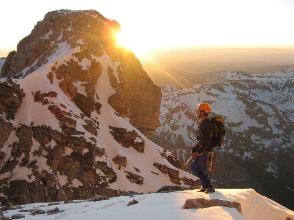 Grand Teton climb.